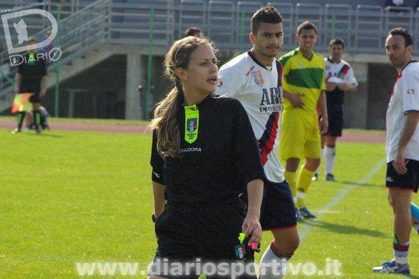 L'arbitro Francesca Campagnolo di Bassano del Grappa