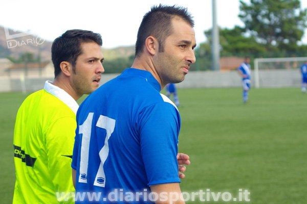 Luca Rusani entra in campo
