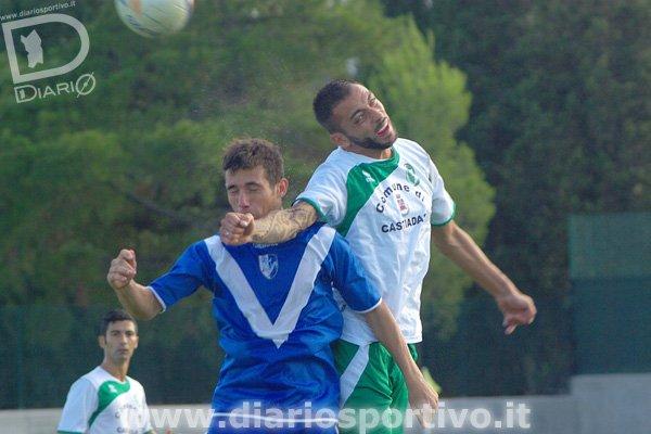 Gianluca Recano salta su Antonio Marielli
