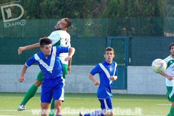 Gianluca Recano salta su Nicola Ferraro