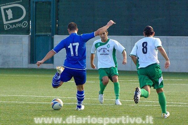 Luca Rusani al tiro