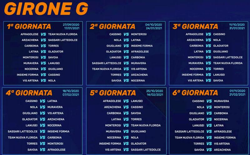 Calendario Serie D Girone G 2020 2021 Lnd, il calendario: subito tre derby, Arzachena Latte Dolce