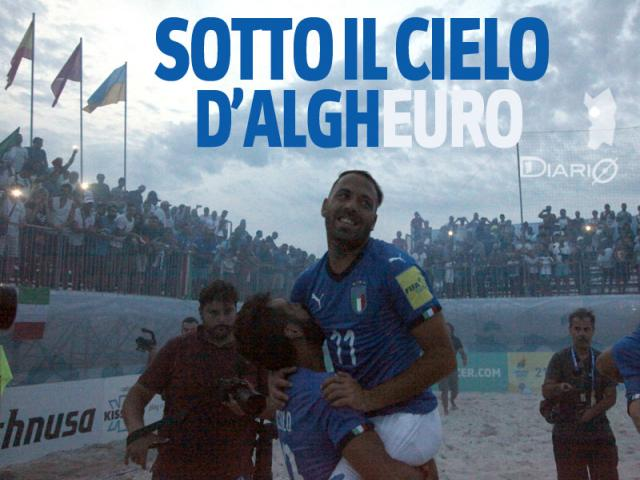 Alghero, Superfinal Euro Beach Soccer League: l'Italia campione