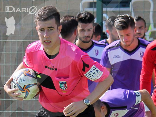 Arbitro Luca Cherchi di Carbonia