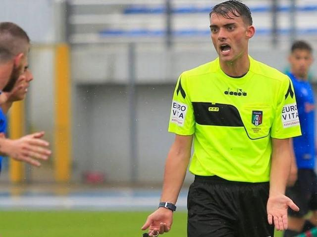 Arbitro William Villa di Rimini