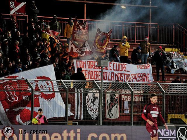 Arezzo Calcio Calendario.Arezzo Calcio Serie C Girone A Toscana Stagione